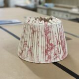 Professional lampshade making workshops