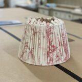 Professional lampshade making workshops