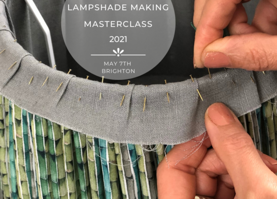 10 week lampshade making masterclass with Moji Designs