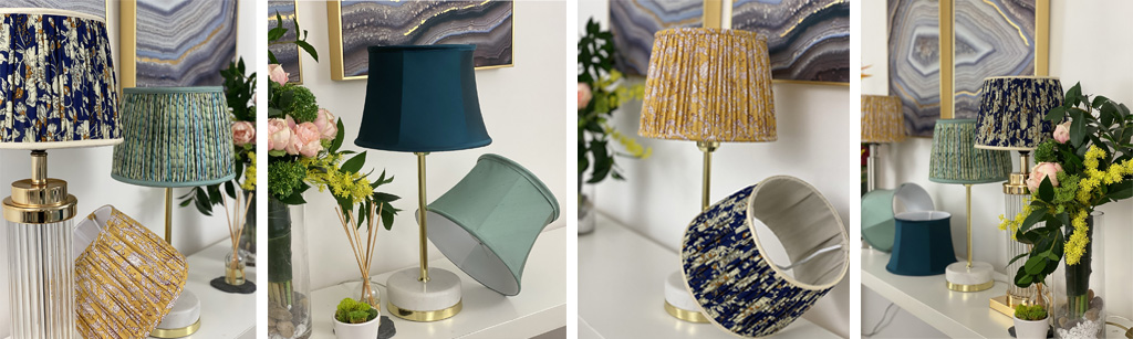 Online lampshade making courses with Moji Designs