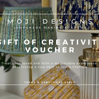 Moji Designs Gift of Creativity Voucher