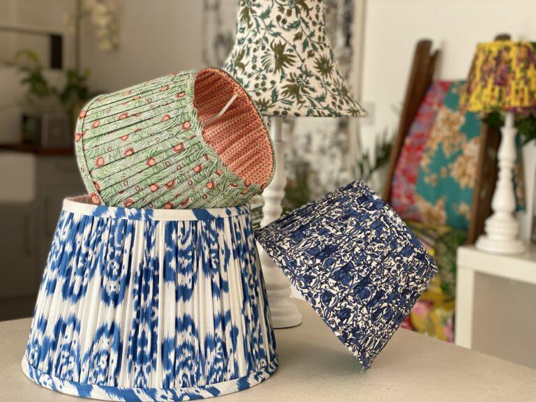Professional lampshade making masterclasses with Moji Designs