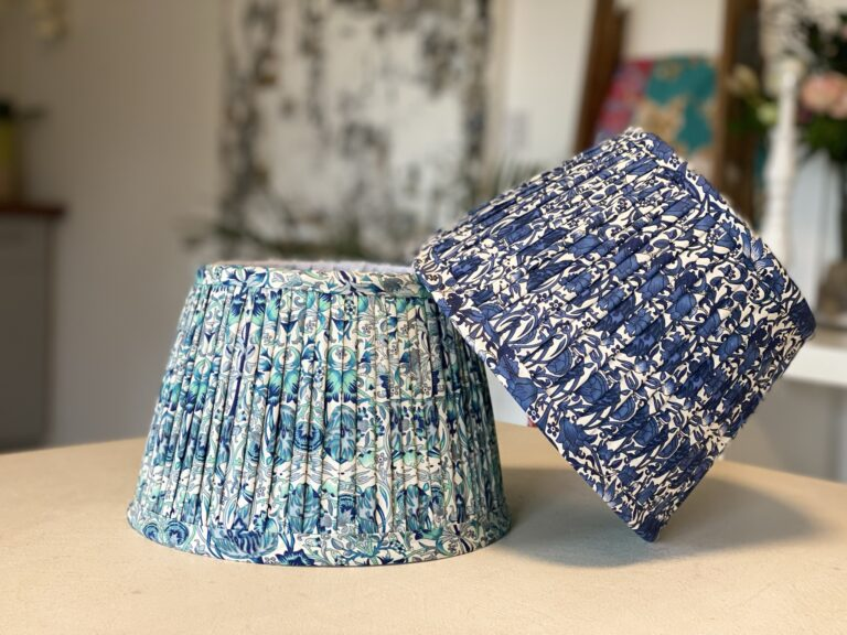 Profeessional lampshade making masterclasses with Moji Designs