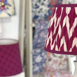 Enjoy the making process of this beautiful gathered lampshade by one of my students at a recent workshop. She made this lampshade as part of her 5 day 1-2-1 lampshade making masterclass held at our studio in Brighton. Look how gorgeous the combination of the top cover and lining is.  The result is fantastic and the pleats on the inside are a lovely finish.   #lampshades #lampshademakingworkshops  #lampshademaker #lampshadedesign #lampshademaking #lampshadeworkshop  #gatheredlampshade #lampshademakingschool #lampshademakingacademy #pleatedlamoshades #tailoredlampshades #traditionallampshades #making lampshades #sewinglampshades #lampshademaking craft #traditionalcrafts #howtomakelampshades #lampshademakingbusiness #mojisalehi #mojidesigns #studiovibes #madeinuk